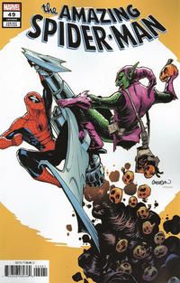 Cover for Amazing Spider-Man (Marvel, 2018 series) #49 (850) [Variant Edition - Mahmud Asrar Cover]