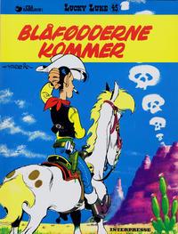 Cover Thumbnail for Lucky Luke (Interpresse, 1971 series) #45 - Blåfødderne kommer