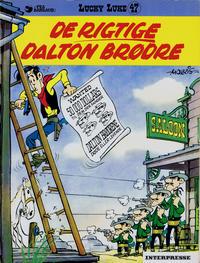 Cover Thumbnail for Lucky Luke (Interpresse, 1971 series) #47 - De rigtige Daltonbrødre
