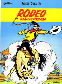 Cover Thumbnail for Lucky Luke (Interpresse, 1971 series) #54 - Rodeo - og andre historier