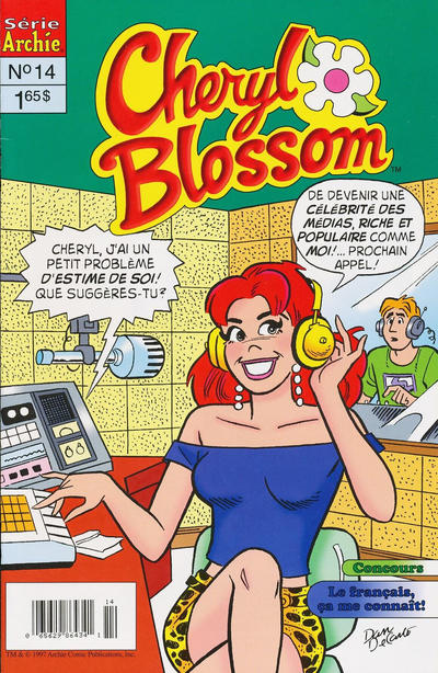 Cover for Cheryl Blossom (Editions Héritage, 1996 series) #14