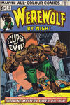 Cover for Werewolf by Night (Marvel, 1972 series) #25 [UK Version]