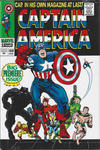 Cover Thumbnail for Captain America Omnibus (2011 series) #1 [Jack Kirby Cover]
