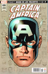 Cover Thumbnail for Captain America (2018 series) #695 ['Legacy Headshot' por Mike McKone]