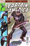 Cover Thumbnail for Captain America (2018 series) #695 ['Homenaje' por Alex Ross]