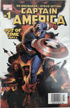 Cover for Captain America (Marvel, 2005 series) #1 [Newsstand]