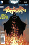 Cover for Batman (DC, 2011 series) #11 [Newsstand]