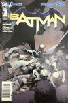 Cover for Batman (DC, 2011 series) #1 [Newsstand]