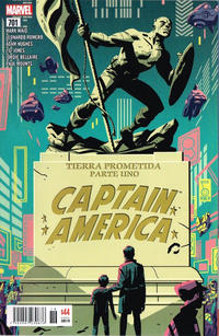 Cover Thumbnail for Captain America (Editorial Televisa, 2018 series) #701