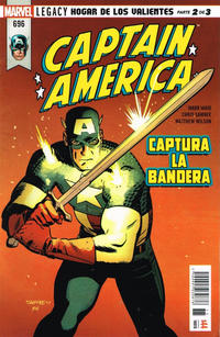 Cover Thumbnail for Captain America (Editorial Televisa, 2018 series) #696