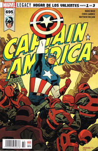 Cover Thumbnail for Captain America (Editorial Televisa, 2018 series) #695