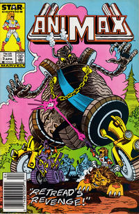 Cover Thumbnail for Animax (Marvel, 1986 series) #3 [Newsstand]
