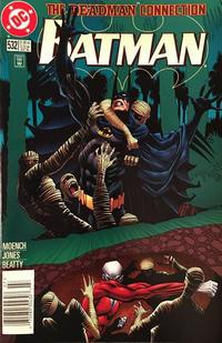 Cover Thumbnail for Batman (DC, 1940 series) #532 [Standard Edition - Newsstand]