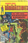 Cover for Hämähäkkimies (Semic, 1980 series) #8/1981