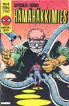 Cover for Hämähäkkimies (Semic, 1980 series) #4/1986
