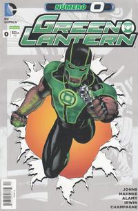 Cover Thumbnail for Green Lantern (Editorial Televisa, 2012 series) #0