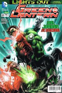 Cover Thumbnail for Green Lantern (Editorial Televisa, 2012 series) #27