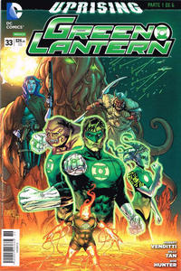 Cover Thumbnail for Green Lantern (Editorial Televisa, 2012 series) #33