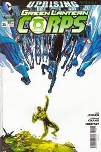 Cover Thumbnail for Green Lantern (Editorial Televisa, 2012 series) #35