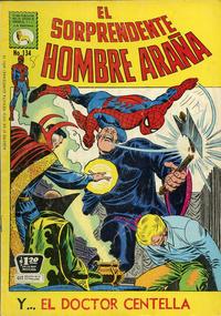 Cover Thumbnail for El Sorprendente Hombre Araña (Editora de Periódicos La Prensa S.C.L., 1963 series) #134