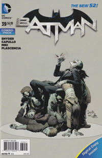 Cover Thumbnail for Batman (DC, 2011 series) #39 [Combo-Pack]