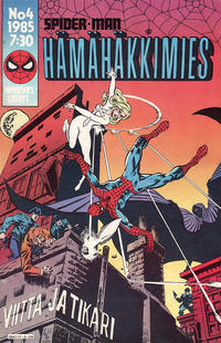 Cover Thumbnail for Hämähäkkimies (Semic, 1980 series) #4/1985