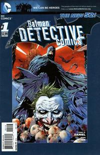 Cover Thumbnail for Detective Comics (DC, 2011 series) #1 [Sixth Printing]