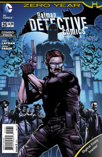 Cover Thumbnail for Detective Comics (DC, 2011 series) #25 [Combo-Pack]