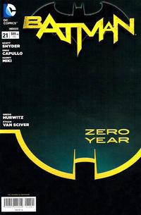 Cover Thumbnail for Batman (Editorial Televisa, 2012 series) #21
