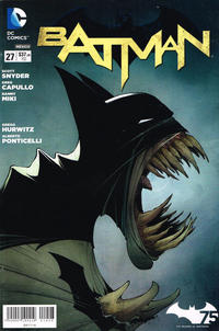 Cover Thumbnail for Batman (Editorial Televisa, 2012 series) #27