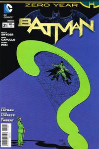Cover Thumbnail for Batman (Editorial Televisa, 2012 series) #31