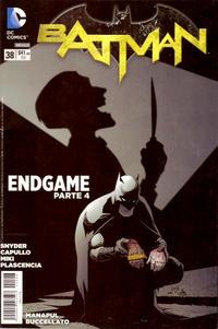 Cover Thumbnail for Batman (Editorial Televisa, 2012 series) #38