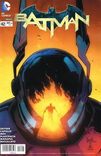 Cover Thumbnail for Batman (Editorial Televisa, 2012 series) #42
