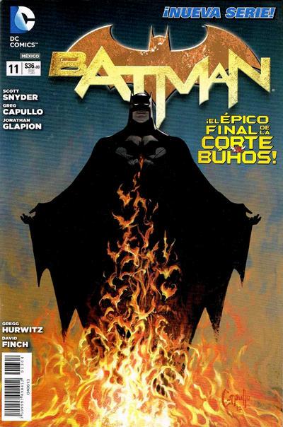 Cover for Batman (Editorial Televisa, 2012 series) #11