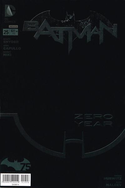 Cover for Batman (Editorial Televisa, 2012 series) #25