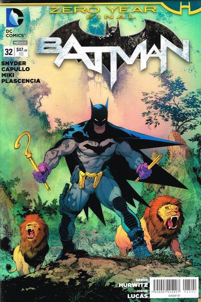 Cover for Batman (Editorial Televisa, 2012 series) #32