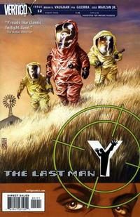 Cover Thumbnail for Y: The Last Man (DC, 2002 series) #12