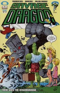Cover Thumbnail for Savage Dragon (Image, 1993 series) #107