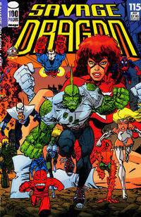 Cover Thumbnail for Savage Dragon (Image, 1993 series) #115