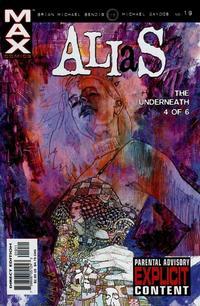Cover for Alias (Marvel, 2001 series) #19