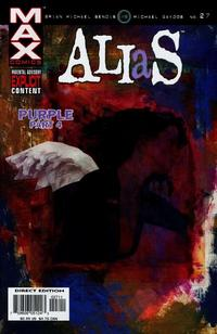 Cover for Alias (Marvel, 2001 series) #27