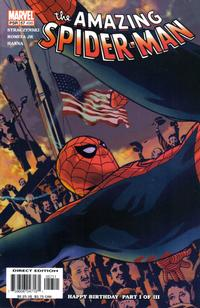Cover Thumbnail for The Amazing Spider-Man (Marvel, 1999 series) #57 (498) [Direct Edition]
