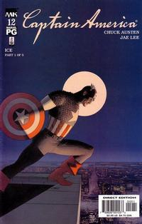 Cover Thumbnail for Captain America (Marvel, 2002 series) #12 [Direct Edition]