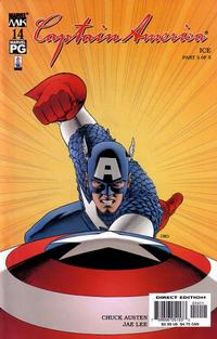 Cover Thumbnail for Captain America (Marvel, 2002 series) #14 [Direct Edition]