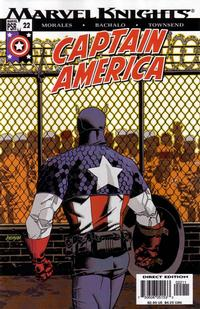 Cover Thumbnail for Captain America (Marvel, 2002 series) #22 [Direct Edition]