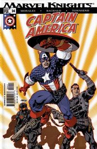 Cover Thumbnail for Captain America (Marvel, 2002 series) #24 [Direct Edition]