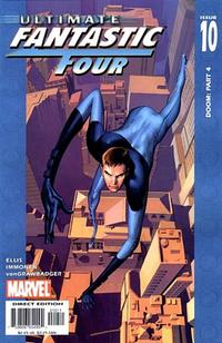 Cover Thumbnail for Ultimate Fantastic Four (Marvel, 2004 series) #10