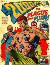 Cover Thumbnail for 2000 AD (IPC, 1977 series) #23