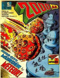 Cover Thumbnail for 2000 AD (IPC, 1977 series) #25