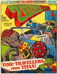 Cover Thumbnail for 2000 AD (IPC, 1977 series) #30
